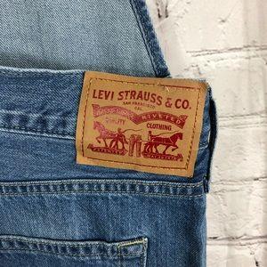 Levi's Jeans - Levi's Women's Baggy Bib Denim Overalls